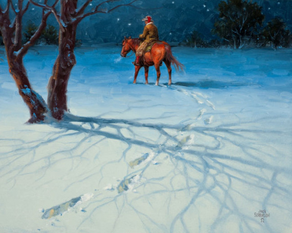 jsorenson_goin_home_for_christmas_16x20_oil2